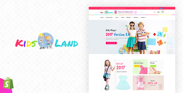 Kids Store v1.1 – Kids Clothing, Fashion Shopify Theme