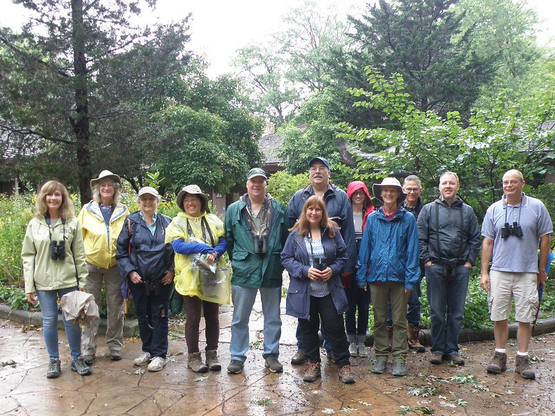 Second Saturday Birders September 8, 2018 at Rocky River Nature Center by Kaoru Tsubone