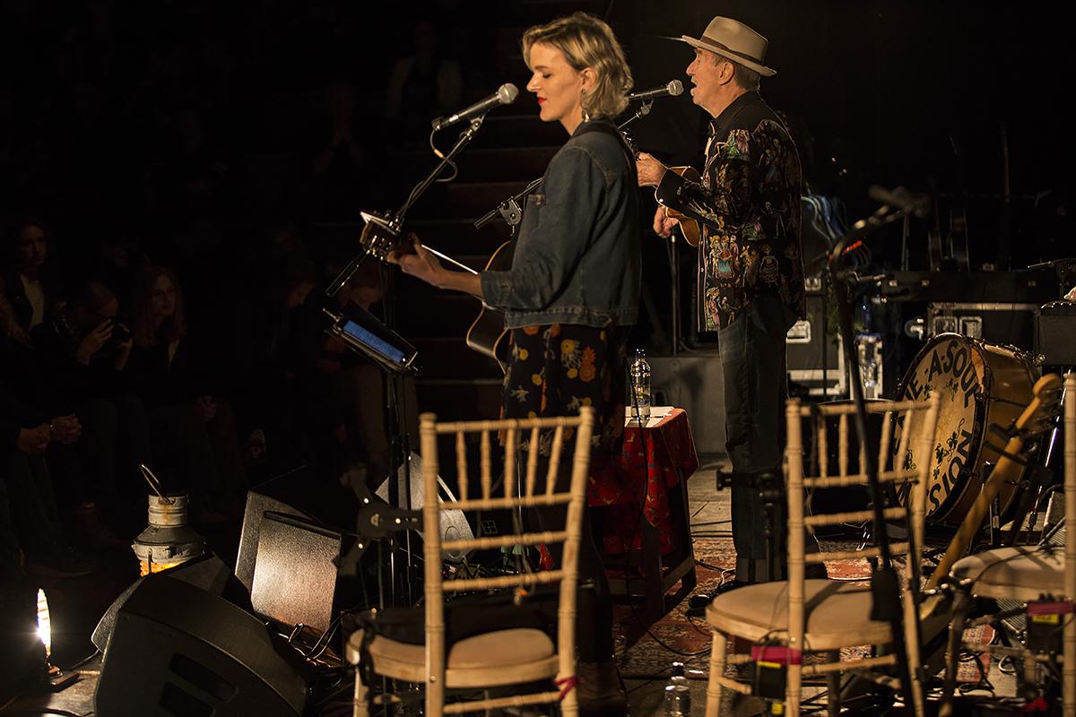 Hank Wangford with Anna Robinson