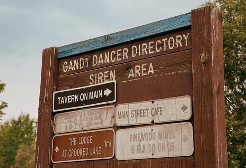 Gandy Dancer Trail Directory - Siren, Wisconsin