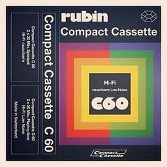 Cassettes: Rubin Rauscharm Low Noise C60