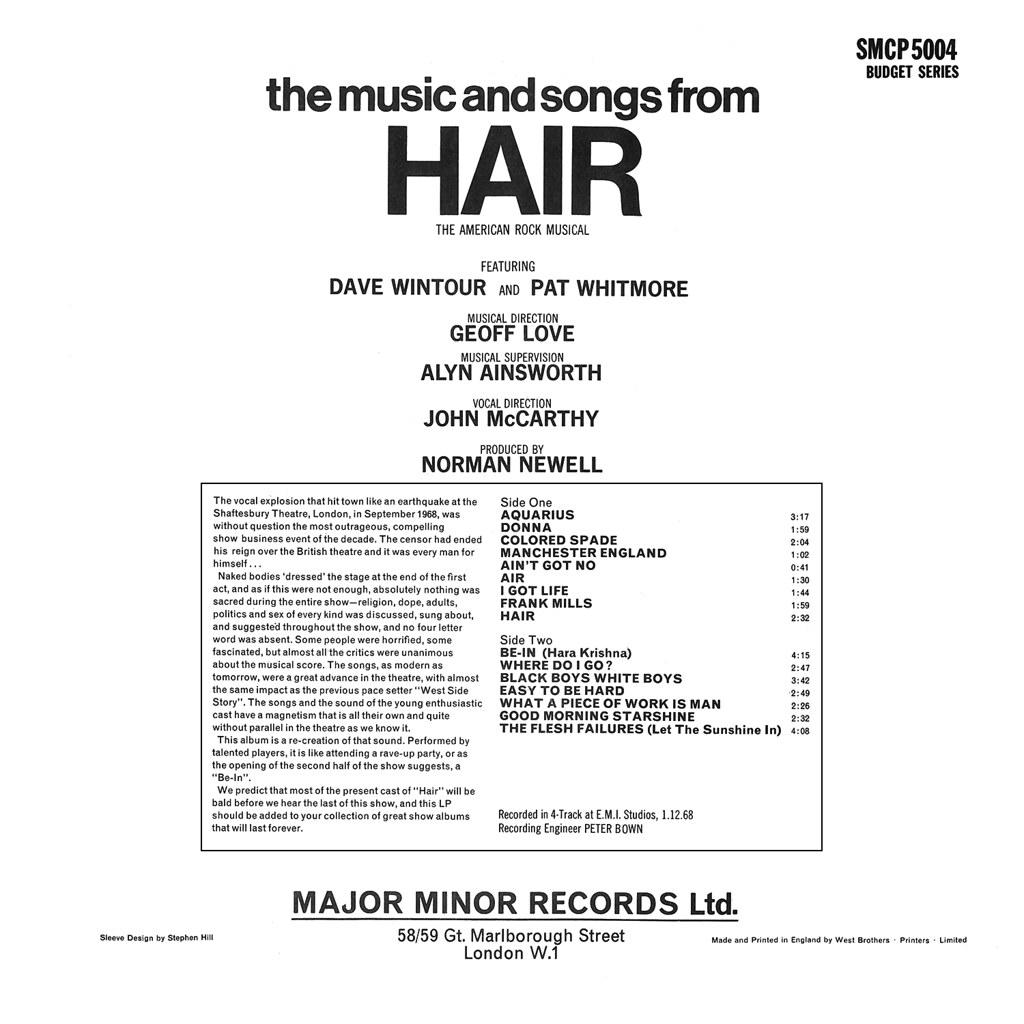 Geoff Love - Hair