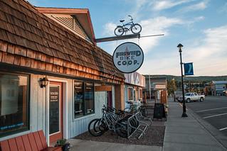 Fireweed Bike Co-op in Grand Marais, Minnesota