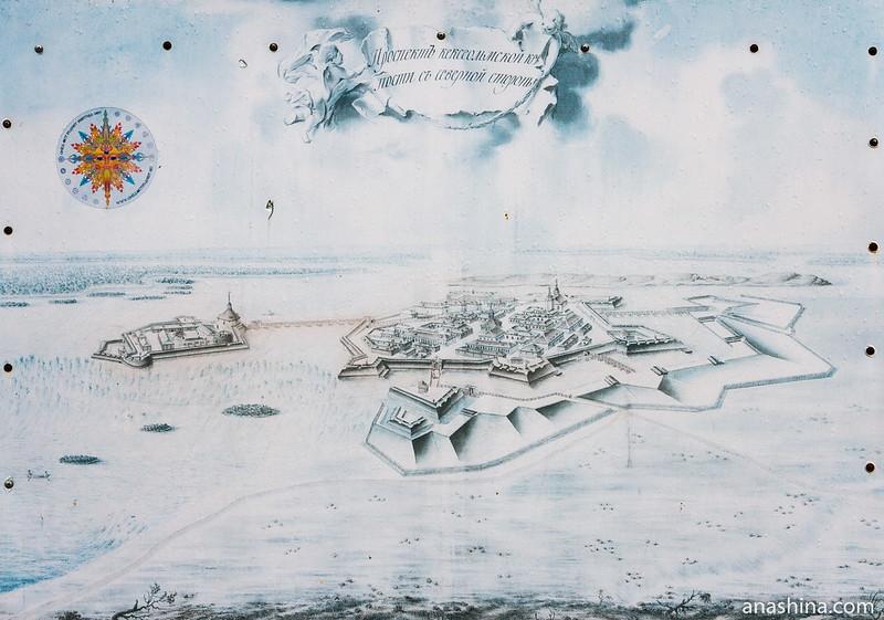 Старая и Новая крепости, крепость Корела в Приозерске