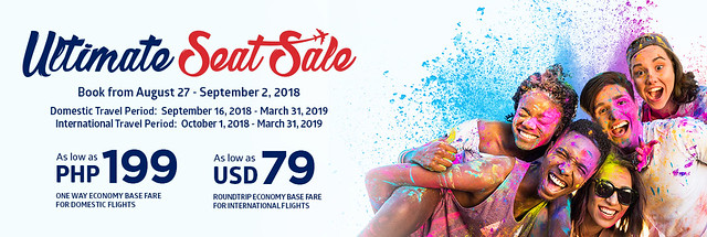 PAL Ultimate Seat Sale August 2018