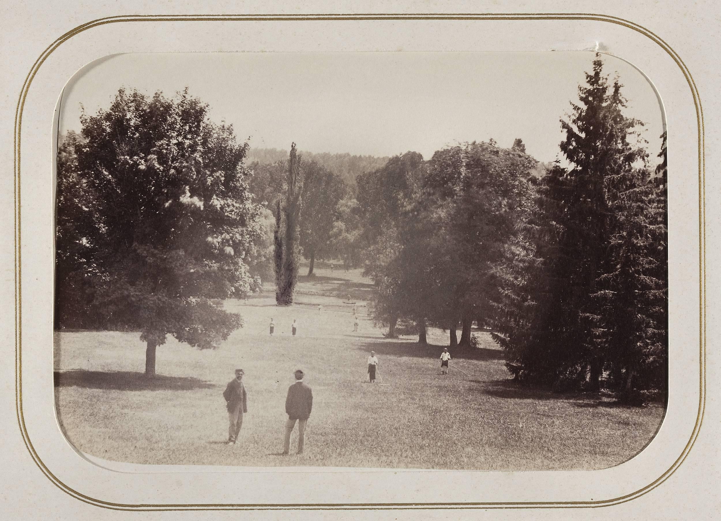 Фрагмент парка