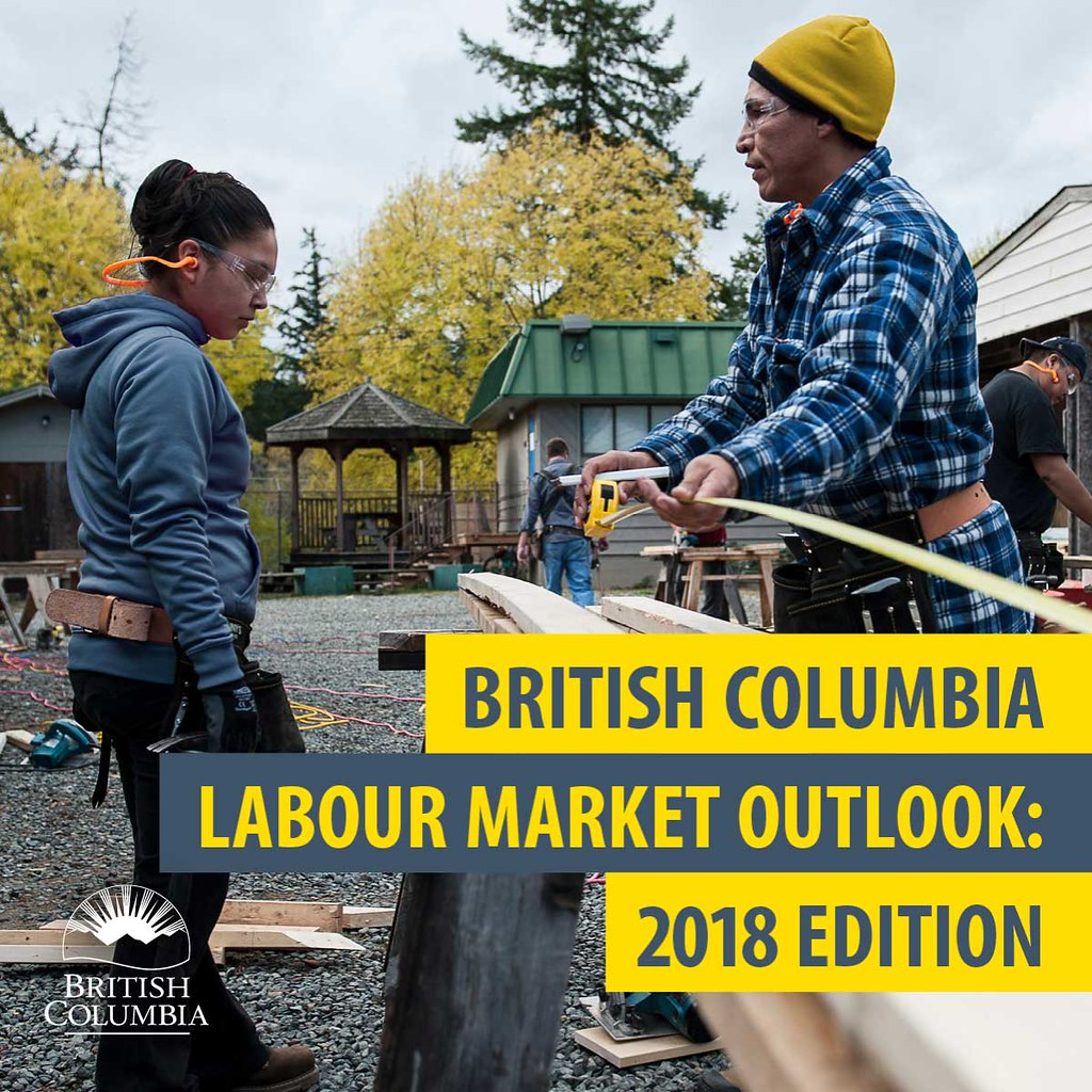 Plan for the future with the new B C  Labour Market Outlook