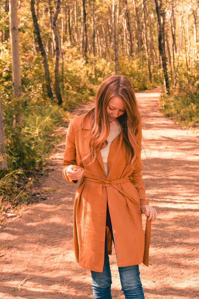 Marigold Coat for Fall under $40