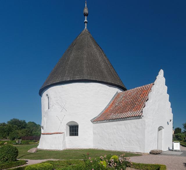 Ny Kirke, Bornholm, Panasonic DMC-GX7, OLYMPUS M.9-18mm F4.0-5.6