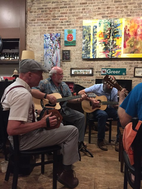 Celtic Session at The Stomping Grounds