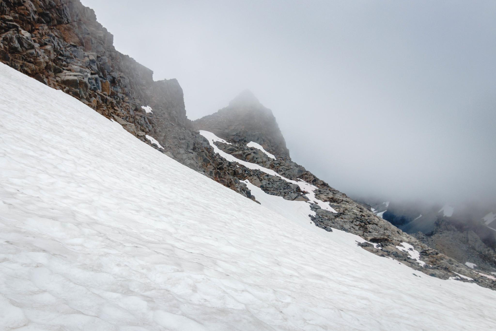 North Star Mountain summit block