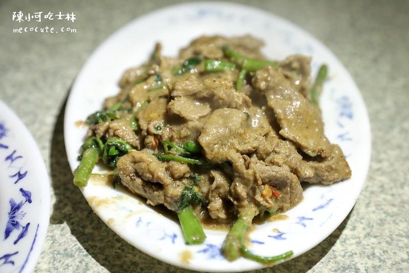 士林宵夜,士林生炒羊肉,士林生炒羊肉菜單,士林美食 @陳小可的吃喝玩樂