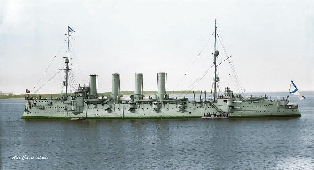 Крейсер I ранга «Громобой», 1911 г.