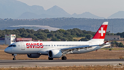 HB-JCE Swiss Bombardier CSeries CS300