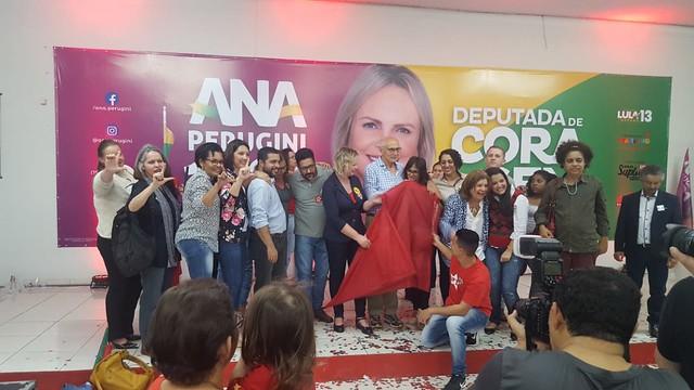25.08.2018 - Lançamento campanha Ana Perugini