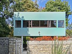 La maison du gardien de la Villa Savoye de Le Corbusier (Poissy, France)