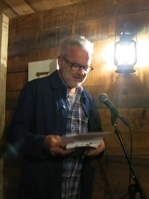 Robin Robertson reads at Gory Bits