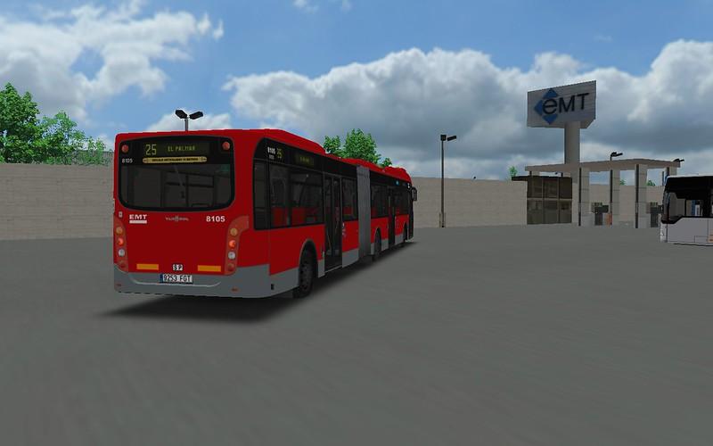 EMT Valencia Vanhool AG300 Repintado 30600522708_9b3f0a7f71_c