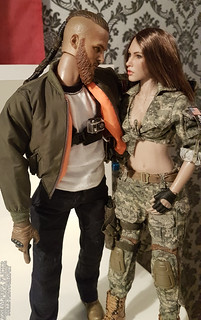"EASY&SYMPLE Urban Operation Assaulter 2 ""Viking"" (Private Military Contractor) and ACU CAMO FEMALE SHOOTER VCF-2026 - VERYCOOL 