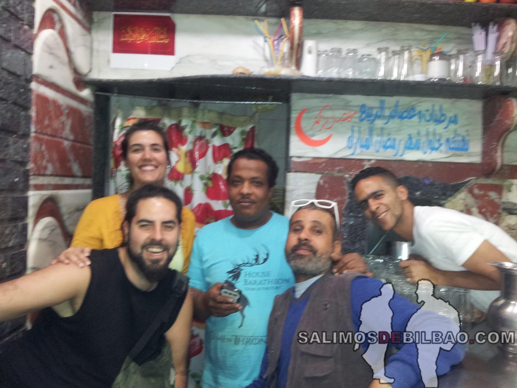 0569. Katz, Abdul y Saioa, Aswan