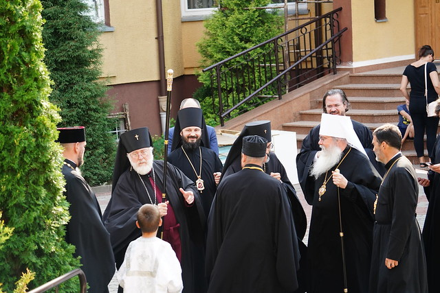 Wizyta Jego Eminencji Metropolity Ameryki, Kanady i Meksyku Tichona