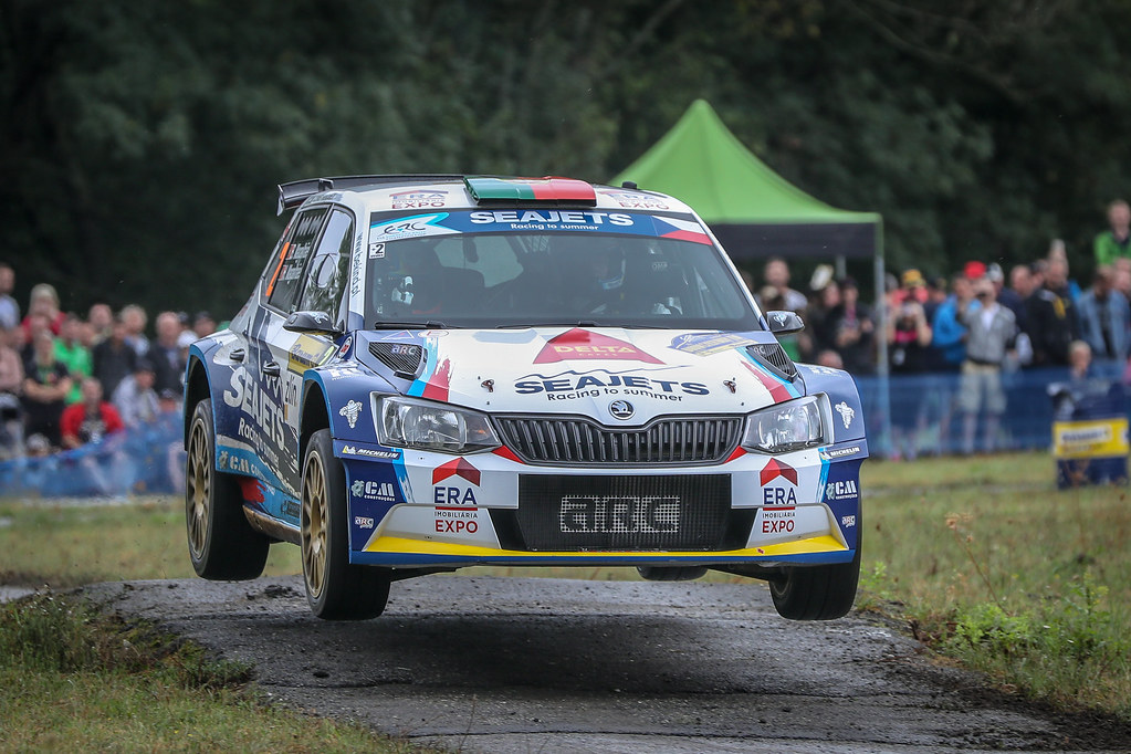 02 Magalhaes Bruno, Magalhaes Hugo, PRT/PRT, Magalhaes Bruno, Skoda Fabia R5, Action during the 2018 European Rally Championship ERC Barum rally,  from August 24 to 26, at Zlin, Czech Republic - Photo Alexandre Guillaumot / DPPI
