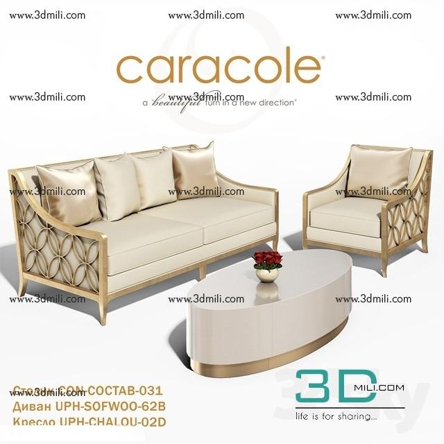123  Sell Album Caracole Furniture 3dsky pro 2018 VOL 4 - 3D Mili -  Download 3D Model - Free 3D Models - 3D Model Download