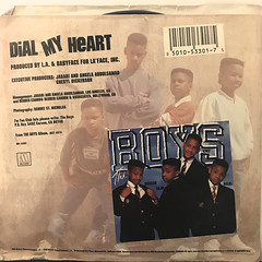 THE BOYS:DIAL MY HEART(JACKET B)
