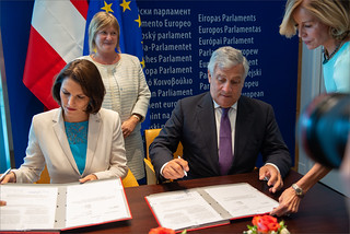 Signature of Lex of European Travel Informationand Authorisation System ( ETIAS)