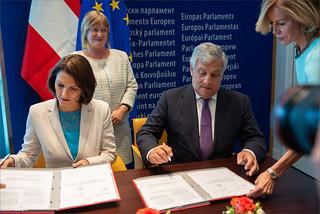 Signature of Lex of European Travel Informationand Authorisation System ( ETIAS)