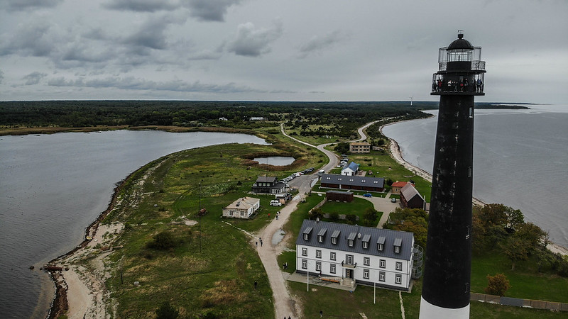 The lighthouse and north view