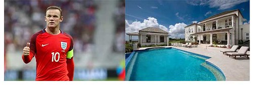 Rooney's swimming pool