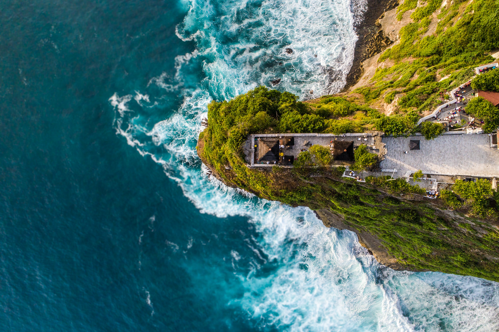 Uluwatu temple by bali drone production