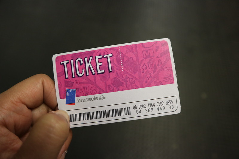 Brussels Metro Ticket