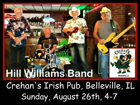 Hill Williams Band 8-26-18