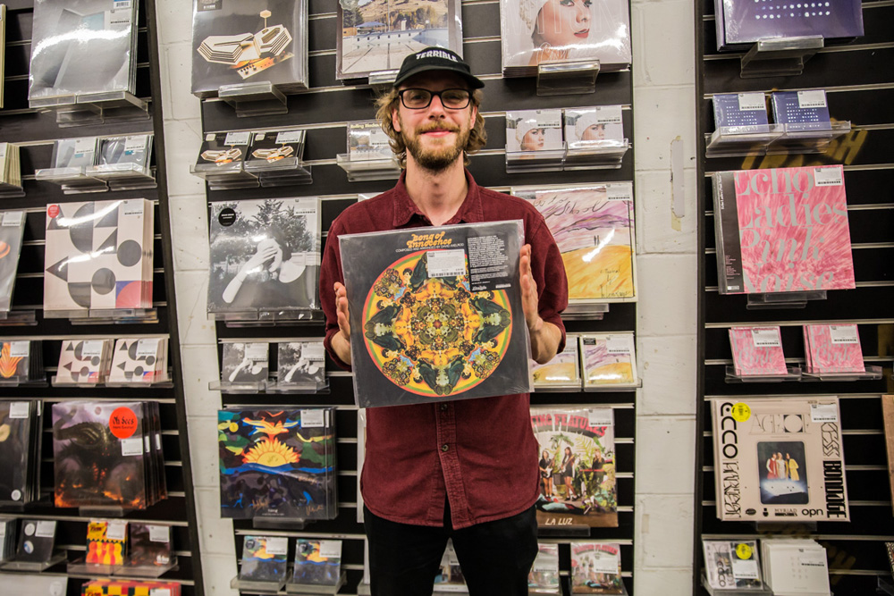 Record Shopping with Spring King