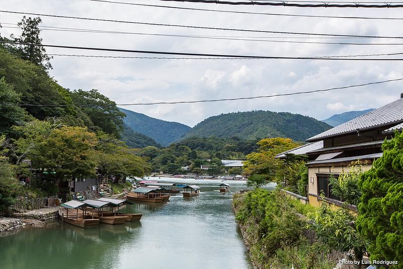 Arashiyama, al oeste de Kioto