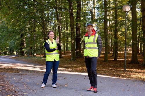 volunteers turn point