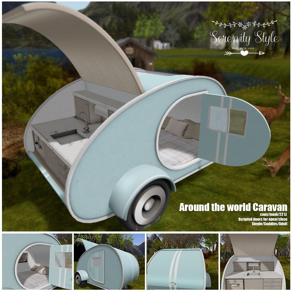 Serenity Style-Around the World Caravan - TeleportHub.com Live!