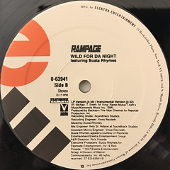 RAMPAGE:TAKE IT TO THE STREETS(LABEL SIDE-B)