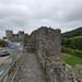Conwy Castle from Conwy Town Walls - Vicarage Gardens Car Park, Conwy