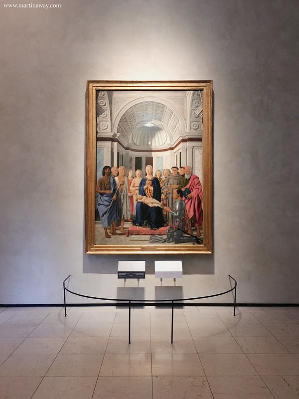 Pala di Brera, Piero della Francesca, sala 24