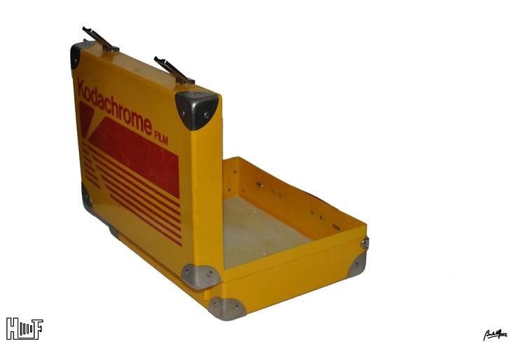 _DSC8393 Mala publicitária Kodachrome e Ektachrome Briefcase