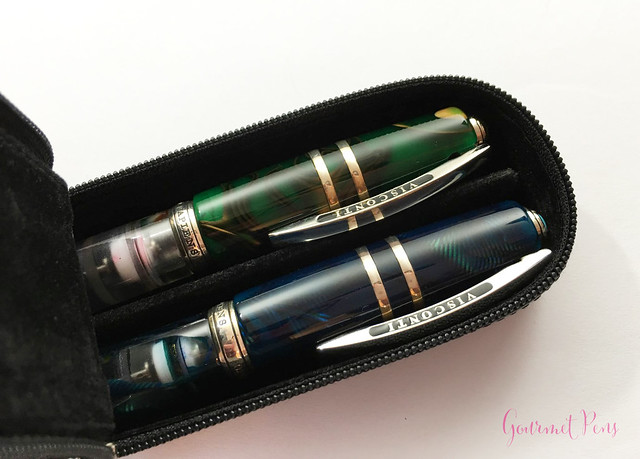 Visconti Zippered Leather Pen Cases @AppelboomLaren @CouronneduComte 16