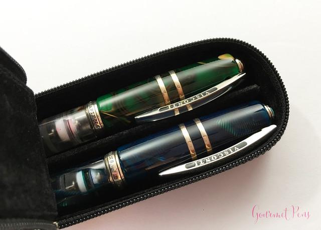 Visconti Zippered Leather Pen Cases @AppelboomLaren @CouronneduComte 16