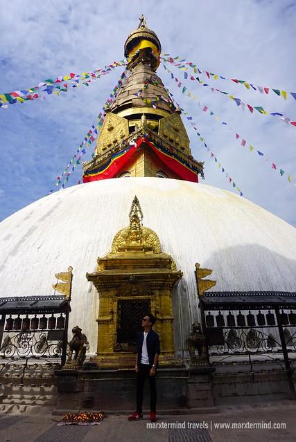 Swayambhunath Stupa Monkey Temple Nepal