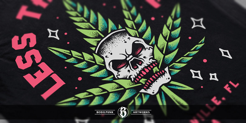 Details - Skull Cannabis