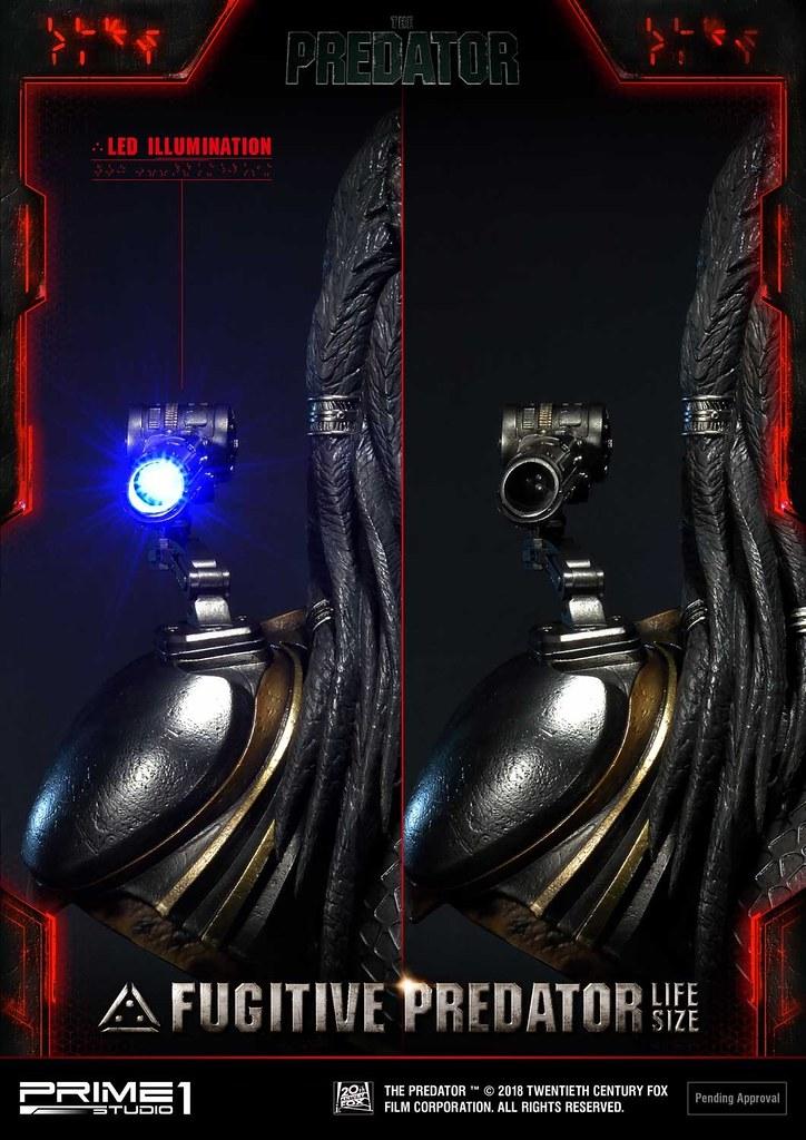 Prime 1 Studio《終極戰士:掠奪者》逃犯終極戰士(暫譯) フジティブ・プレデター LSTPR-01 1:1 比例胸像作品 普通版/豪華版