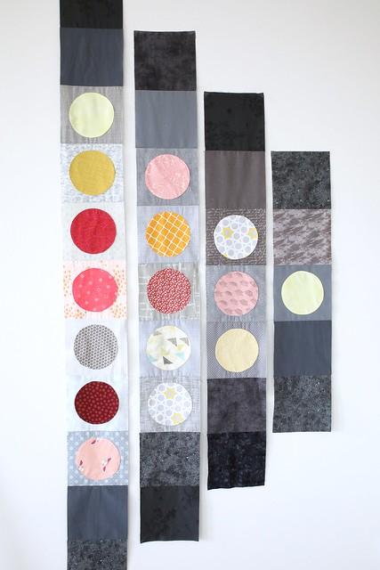 Saija's circle quilt