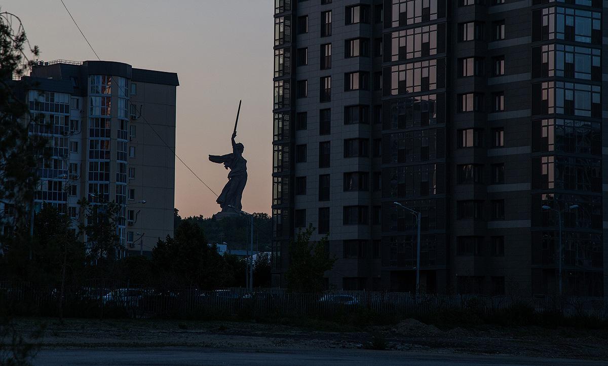 Немного августовского послечемпионатного Волгограда.